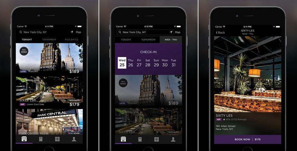 Best Travel Apps | Hotel Tonight