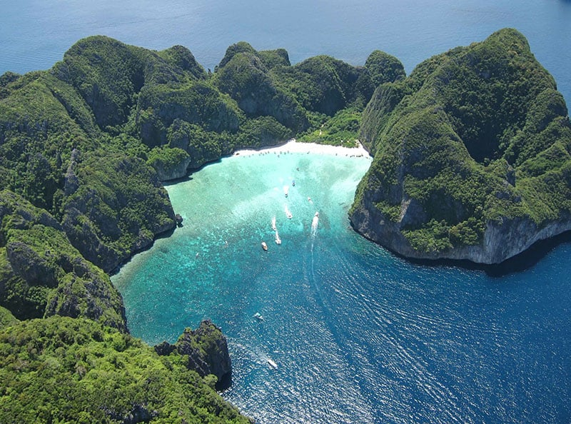 Ko Phi Phi, Thailand | Most Beautiful Beaches