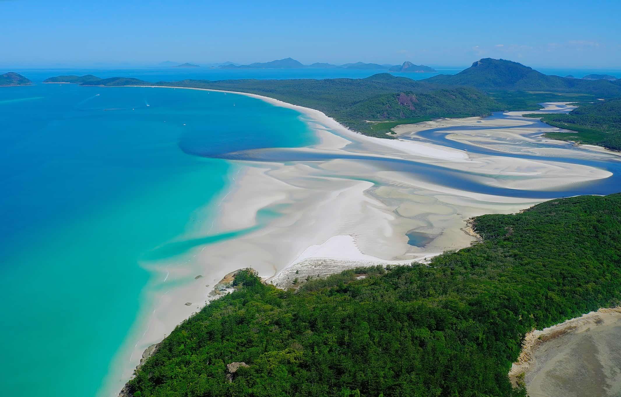 Whitehaven Beach, Whitsunday Island | Most Beautiful Beaches