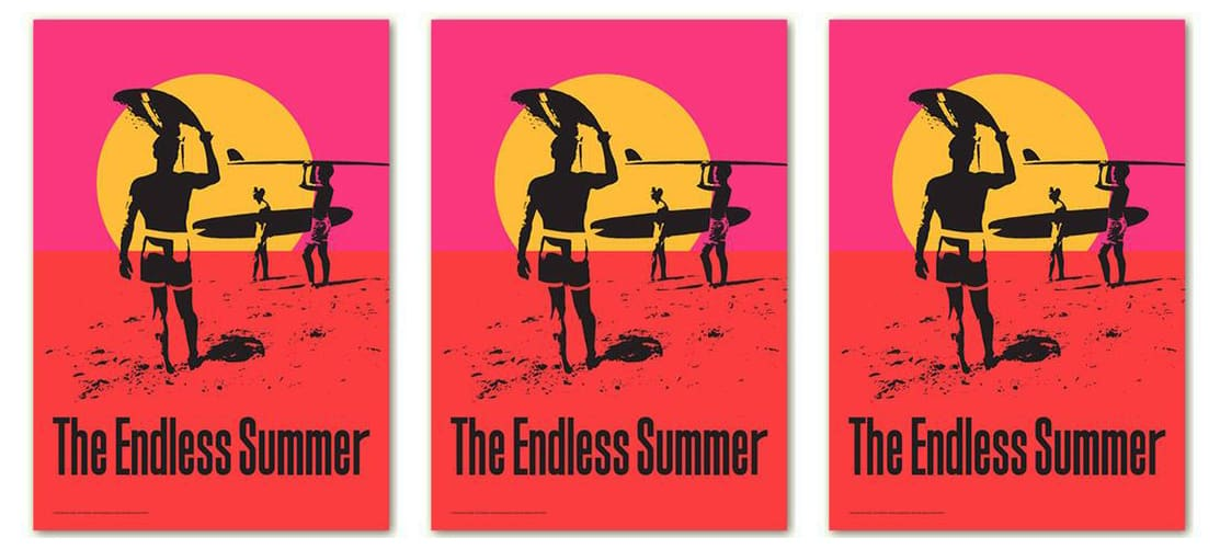 endless summer poster bruce brown