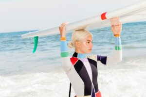 Stylish Surf Spring Suits by Cynthia Rowley