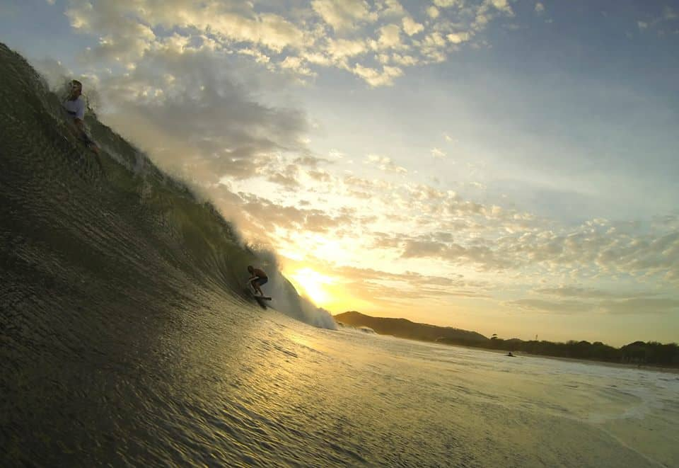 Types of surf breaks - Playa Colorado Nicaragua