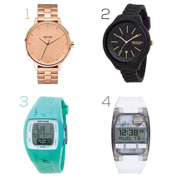 Best Gifts For The Beach Babe | women's surf watches