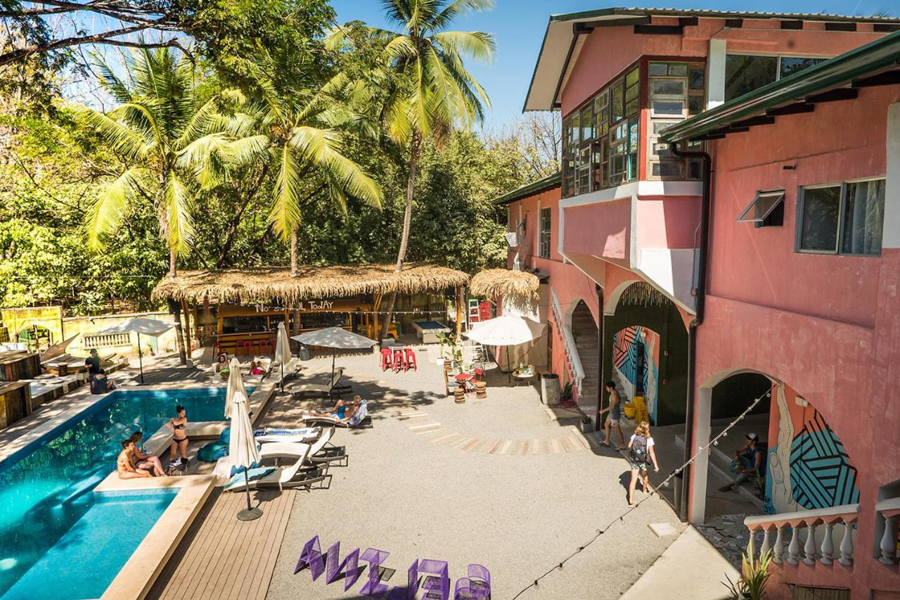 costa rica surf hotel and hostel in Santa Teresa