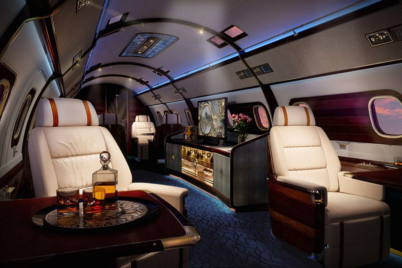 skyacht one private jet | luxury yacht in the sky