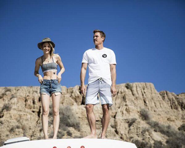 Sustainable beach-inspired activewear by Vuori