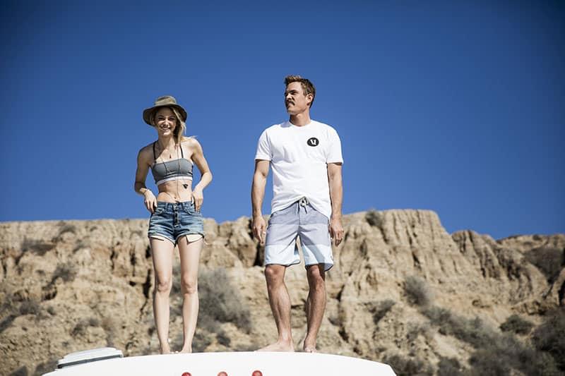 Sustainable Beach-Inspired Activewear by Vuori / cruise boardshort