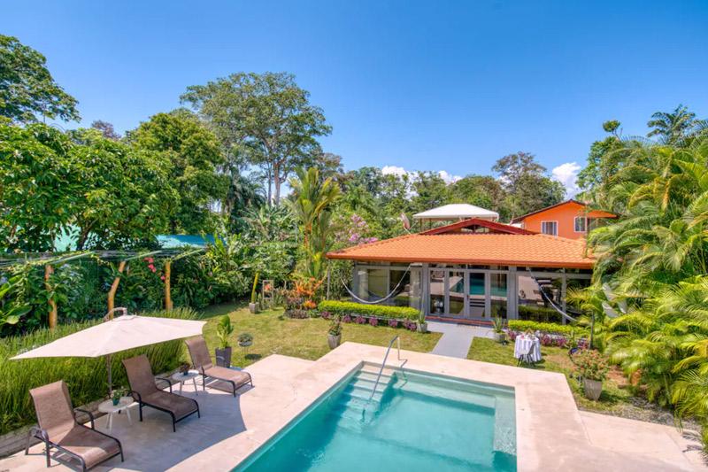 costa rica surf villa caribbean side