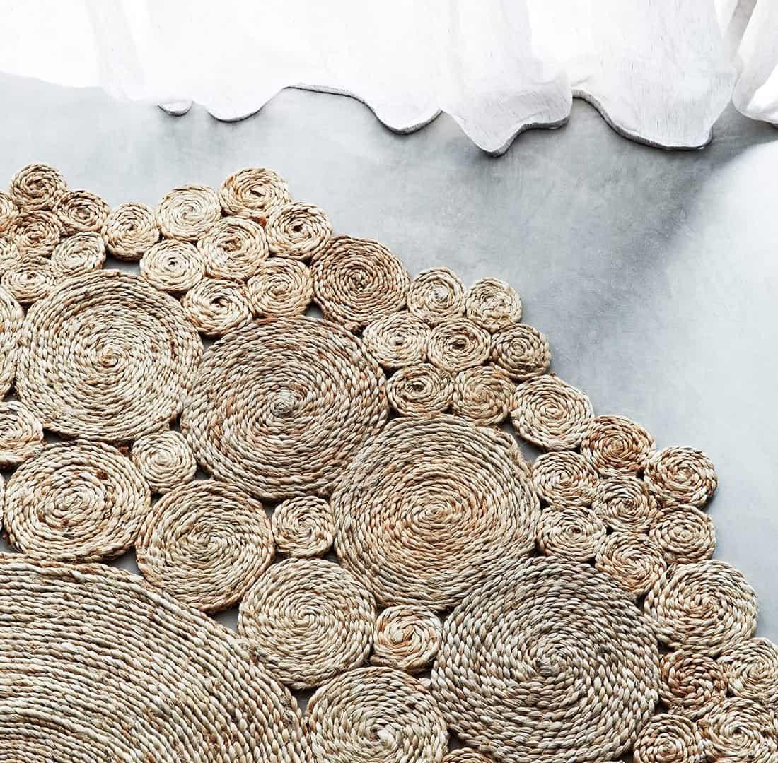 geranium weave rug / beach house style