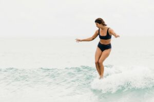 Surf Bikinis / 18 Chic Suits That Stay On In The Waves