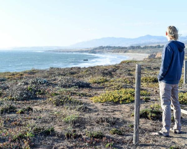 Entrance to Big Sur / RTW SURF TRIP 02 / FROM ENCINITAS TO SAN FRANCISCO