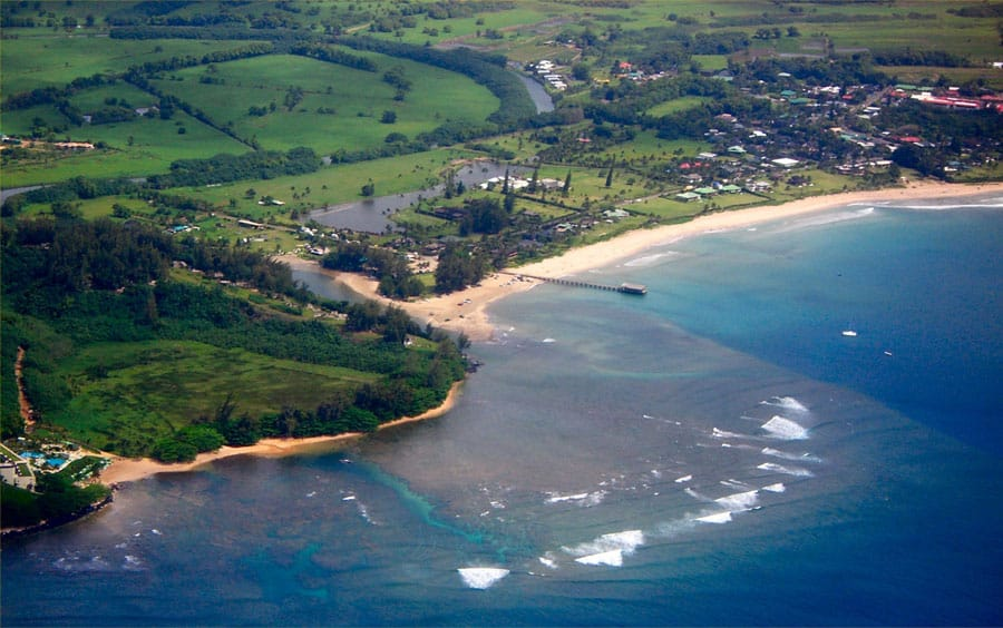 Hanalei Bay / Guide to Kilauea Kauai with Pro Surfer Leila Hurst