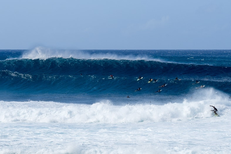 Pipeline, North Shore Oahu
