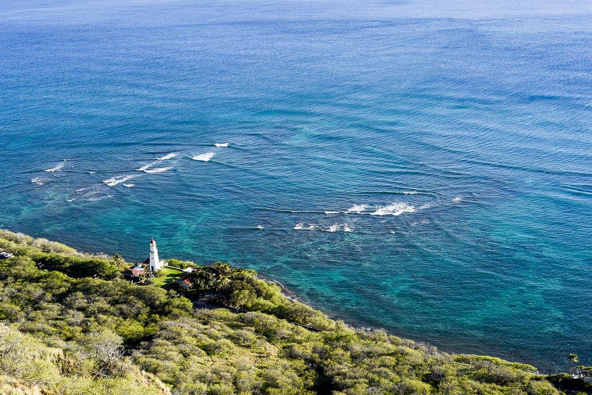 Diamond Head lighthouse / Honolulu Hawaii