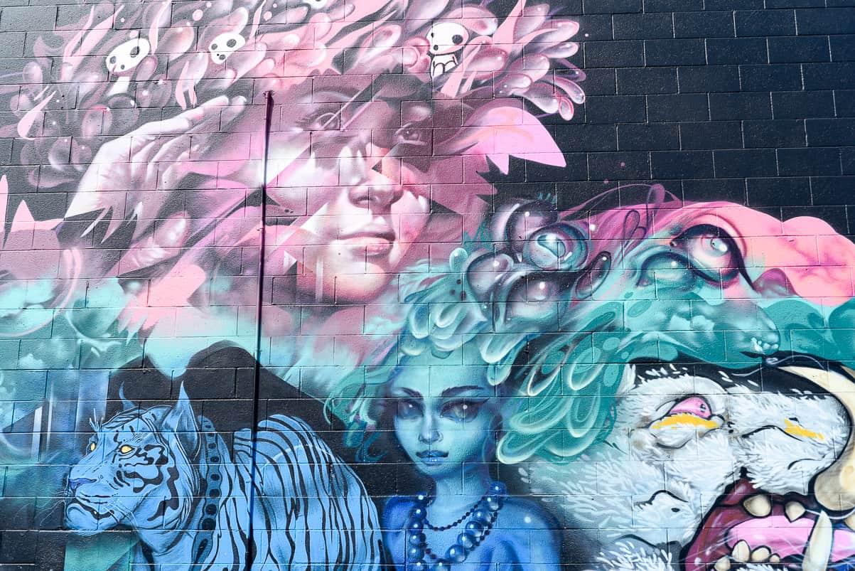 kakaako street art / honolulu hawaii