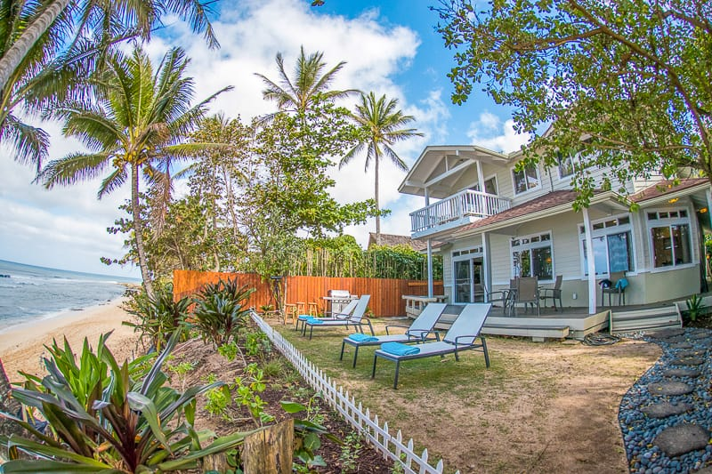 north shore oahu beach house