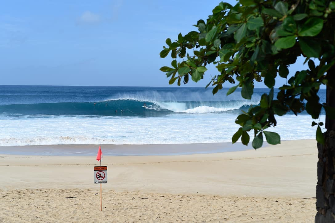 North Shore Oahu surf