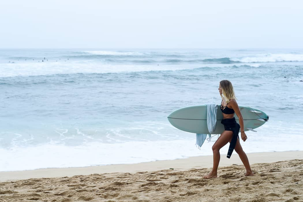 surfer girl / North Shore Oahu