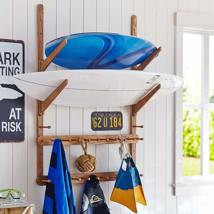 surfboard racks / surfboard wall rack