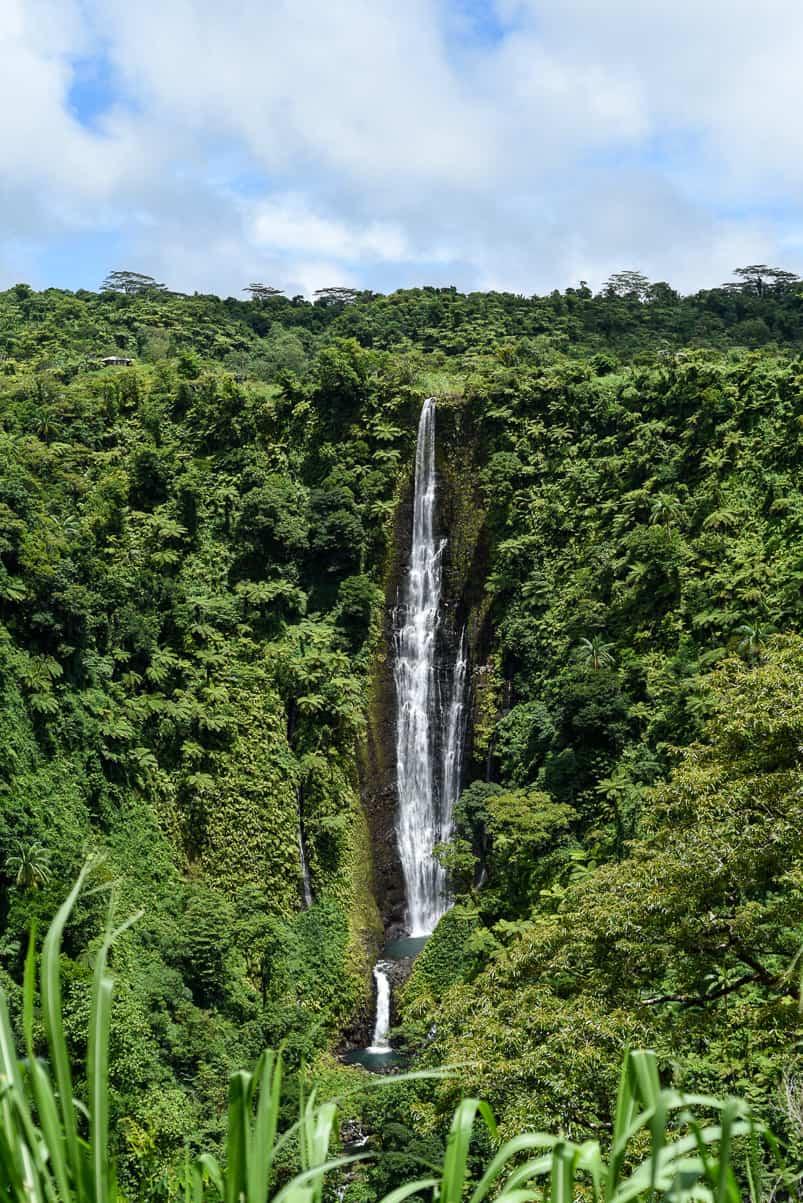 samoa papapapaitai waterfall