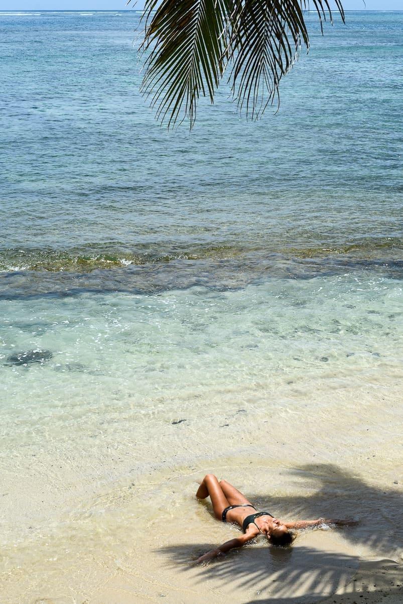 samoa sinalei reef resort beach