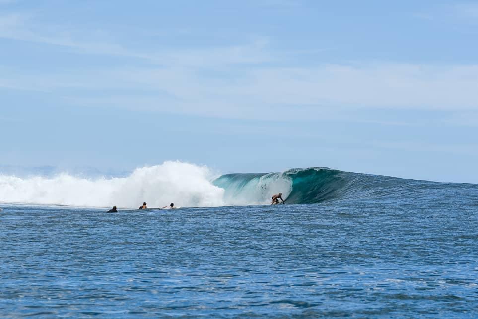 samoa wackas surf break upolu