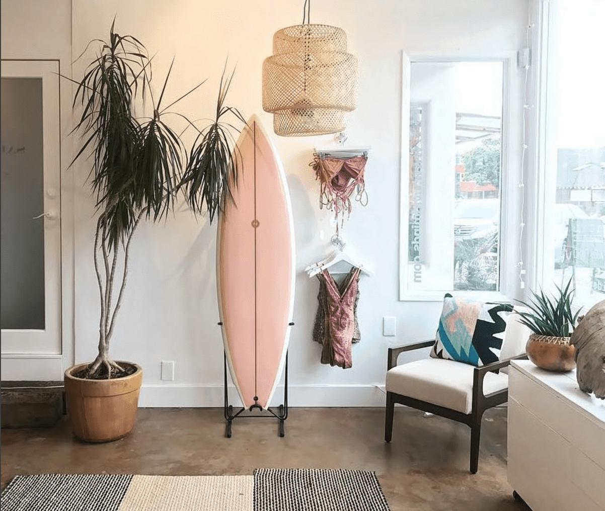 surfboard pink album surf