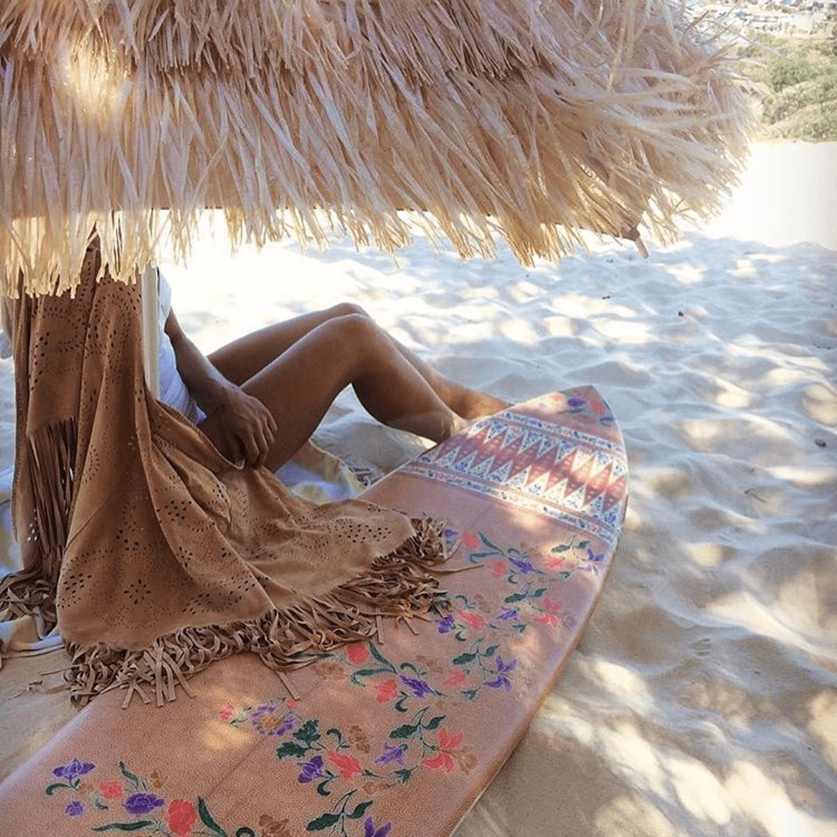 surfboard print womens nusa indah