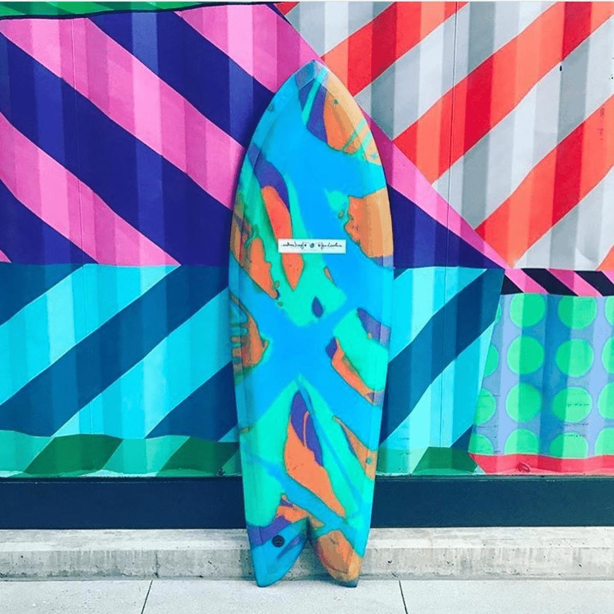 surfboard abstract art ryan lovelace