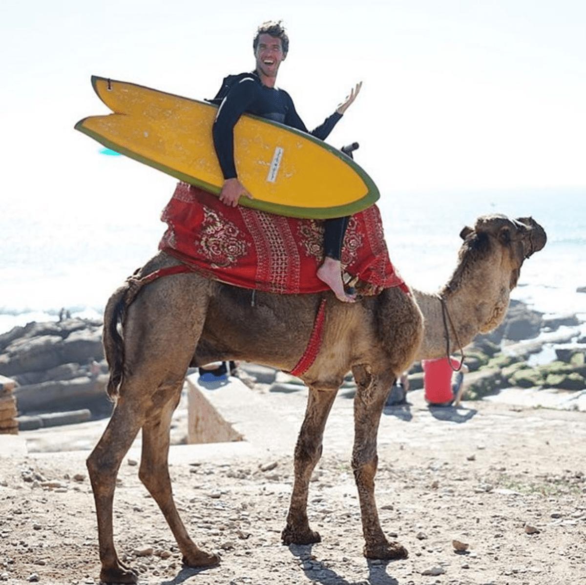 surfboard yellow camel ryan lovelace