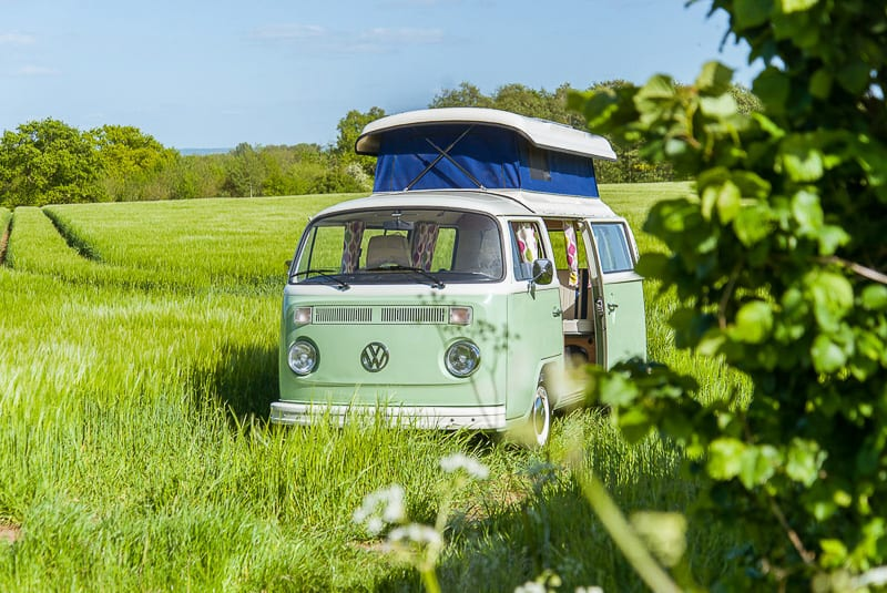 campervan hire uk / red hatch classic campers