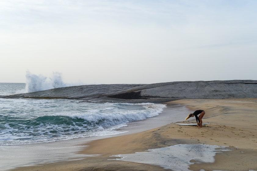 surfing sri lanka okanda
