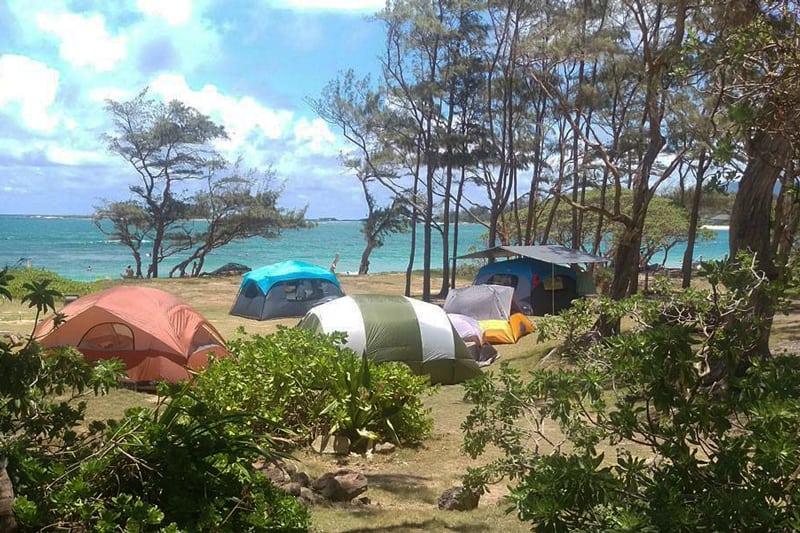 Oahu Hawaii camping