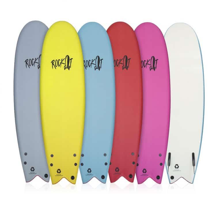 foam top surfboard