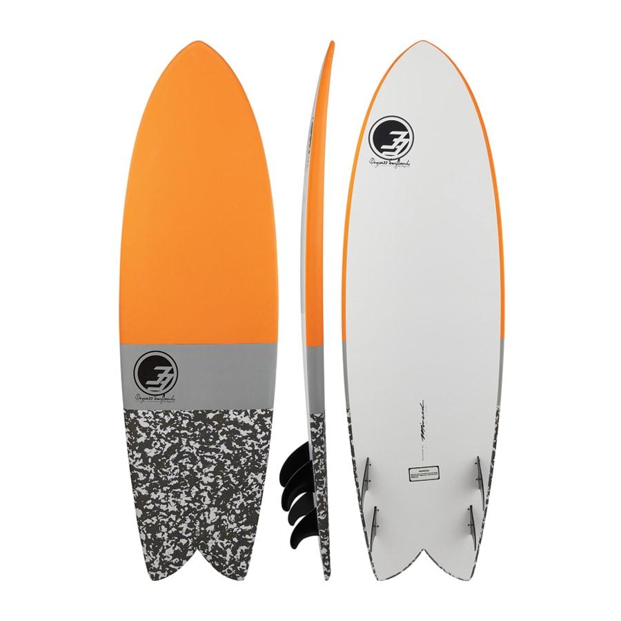 soft top fish surfboard