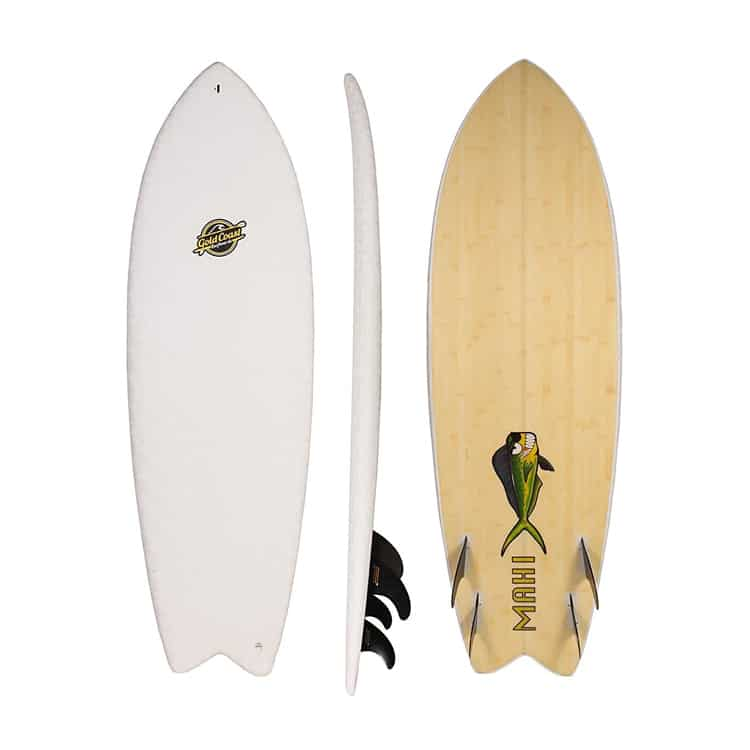 soft top surfboard fish