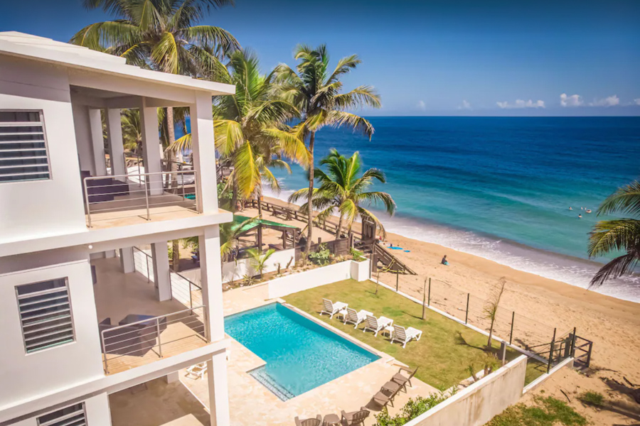 rincon puerto rico beachfront vacation rental for surfing