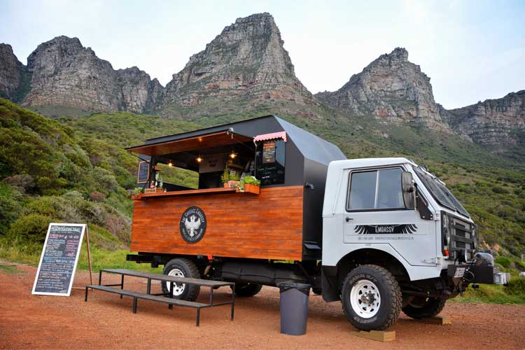food truck cape town