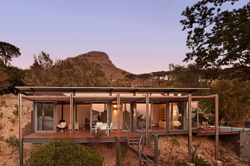 surfing south africa luxury vacation rental