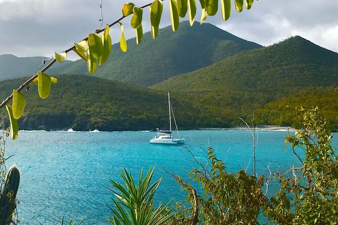 Sailing charter in beautiful bay in Puerto Rico