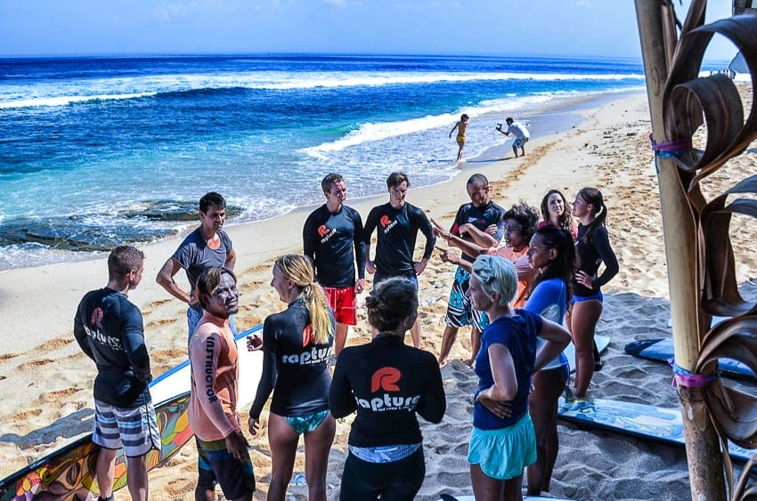 bali surf camps
