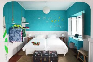 Chill in Ericeira / An Artsy and Colorful Surf House in Ericeira, Portugal