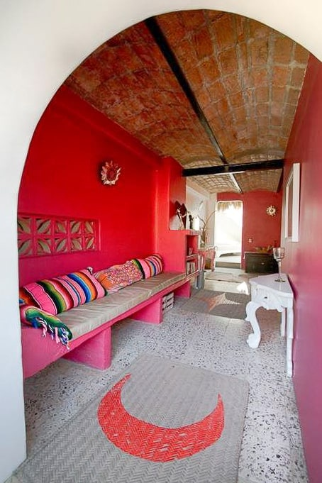 petit hotel hafa sayulita lower common area