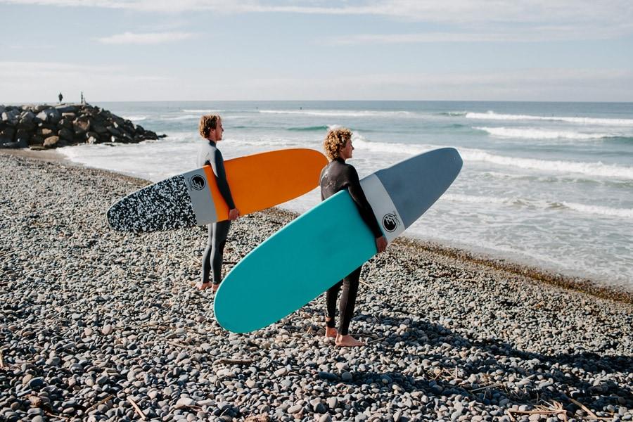 beginner surfboard soft top