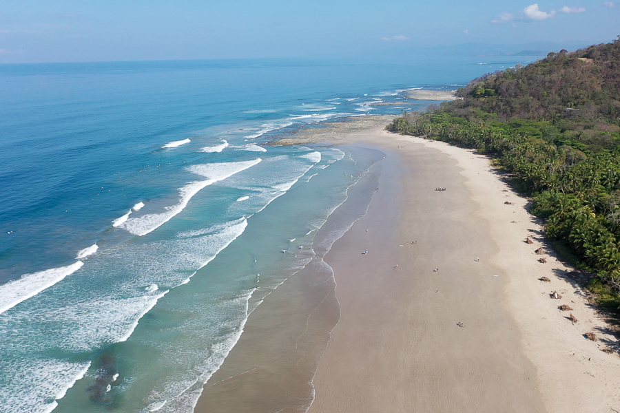 costa rica / best place to learn to surf