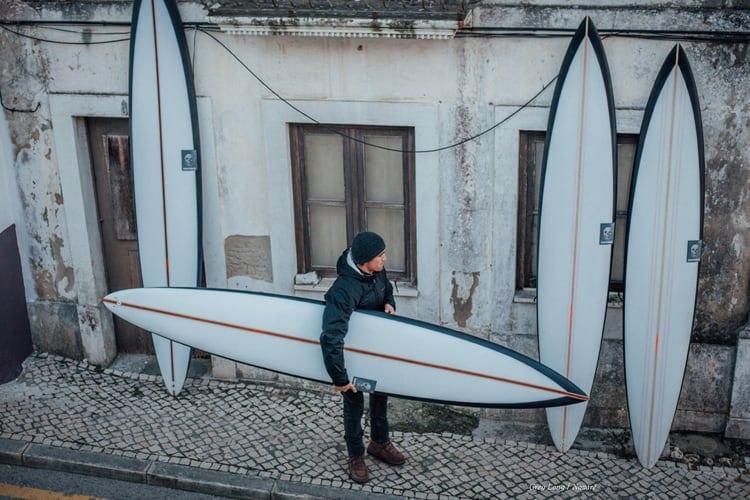 surfboard gun