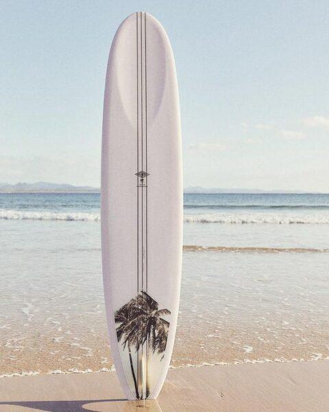 longboard surfboard mctavish
