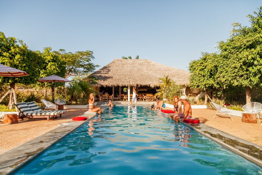 Malibu Popoyo pool