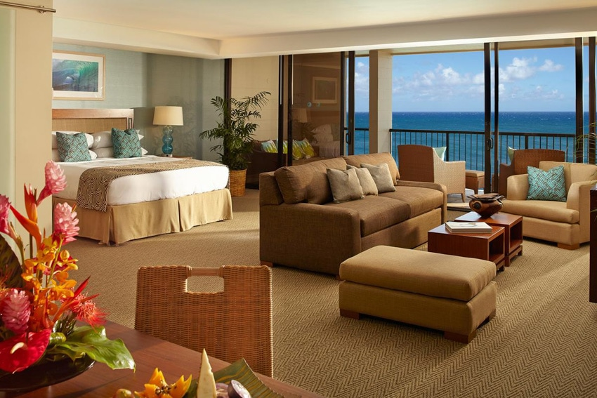 turtle bay resort oahu ocean view junior suite