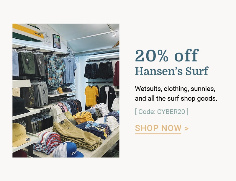 cyber monday surf